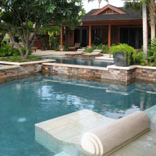 Tropical Pool by VITA Planning and Landscape Architecture