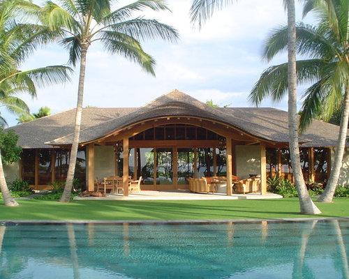 Tropical hawaii pool design ideas remodels photos for Pool design hawaii