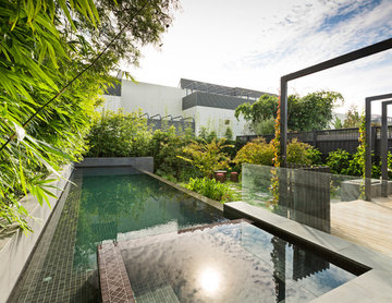 Hawthorn Infinity Lap Pool and Spa