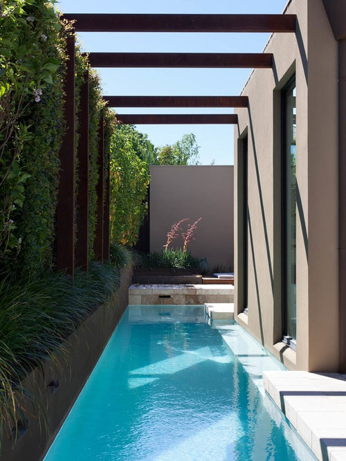 Best contemporary pool design ideas remodel pictures houzz for Pool design houzz