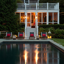 Traditional Pool by LaGuardia Design