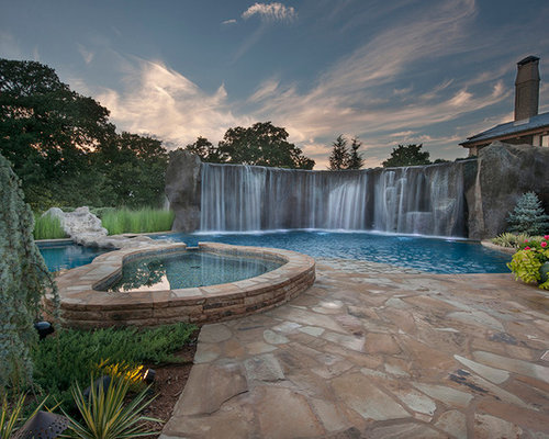 Hgtv diy network pool kings pirate theme pool for Innovative pool design king s mountain