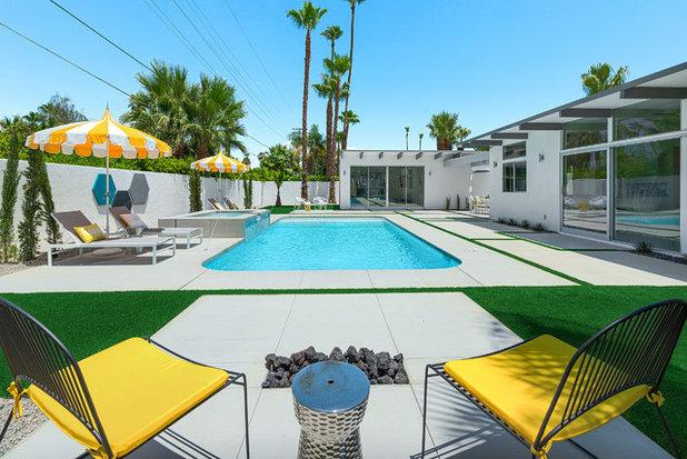 Midcentury Pool by H3K Design