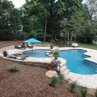 High Point, NC Backyard Pool