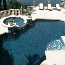 Mediterranean Pool by Blue Haven Pools of S.E. Florida