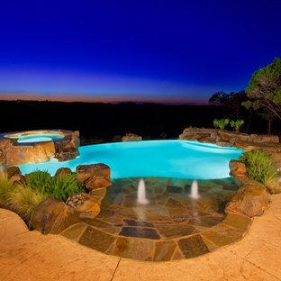 Pool - eclectic pool idea in Austin