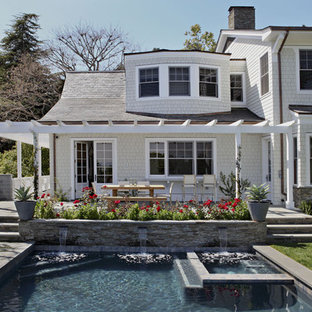 Pool - traditional rectangular pool idea in Los Angeles