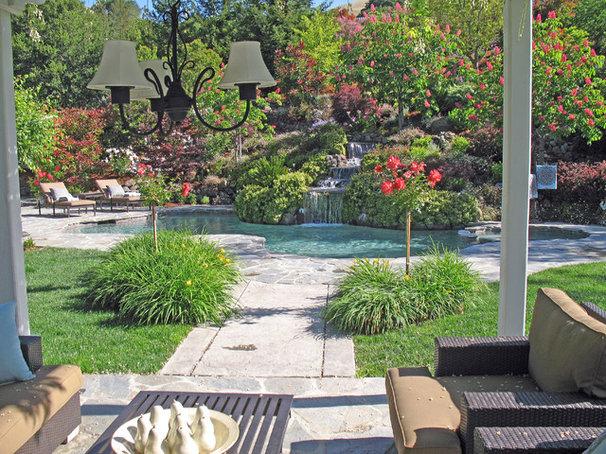 Traditional Landscape by Alder Group, Pool and Landscape Co.