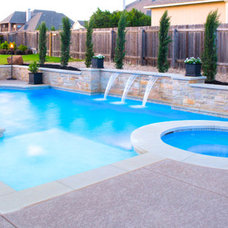 Traditional Pool by Athena Pools and Outdoor Living Spaces
