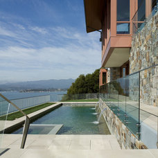 Contemporary Pool by Sutton Suzuki Architects
