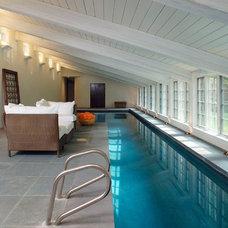 Modern Pool by E. B. Mahoney Builders, Inc.