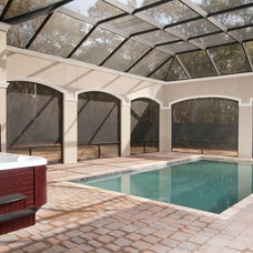 Traditional Pool by Shoreline Construction and Development