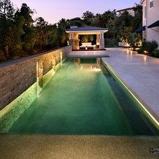 Modern Pool by Urban Landscape