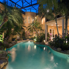 Traditional Pool by Silver Sea Homes