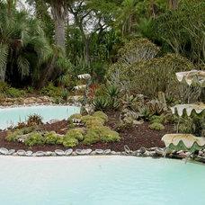 Beach Style Pool by www.KarlGercens.com