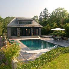 Traditional Pool by George Penniman Architects, LLC