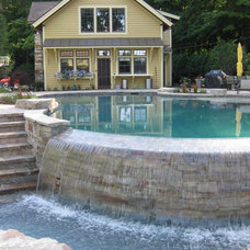 Traditional Pool by Signature Outdoor Concepts
