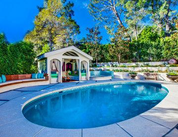 Hollywood Hills Landscape Design Project