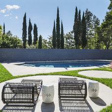 Midcentury Pool by levitt architects