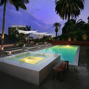 Hollywood Hills Pool, spa and outdoor living