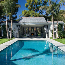 Traditional Pool by Maienza-Wilson Interior Design + Architecture
