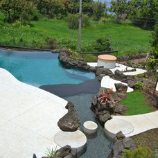 Tropical Pool by DICKINSON GENERAL CONTRACTING