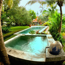 Modern Pool by Architectural Design Consultants