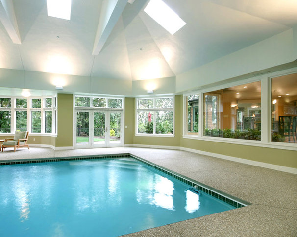Traditional Pool by Eric H. Gjerde AIA