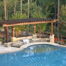 Mediterranean Pool by Sunmar Construction