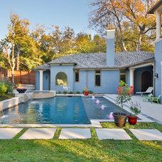 Mediterranean Pool by Veranda Fine Homes