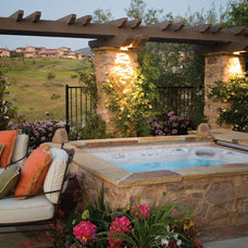 Mediterranean Swimming Pools And Spas by Hot Spring Spas