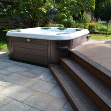 """Traditional Pool by Long Island Hot Tub """"Hot Tub and Pool Experts"""""""