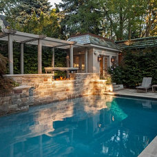Traditional Pool by Peter A. Sellar - Architectural Photographer