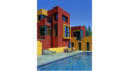 Modern Pool House and House Architects