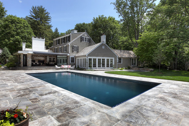 Traditional Pool by Callaway Architects, LLC