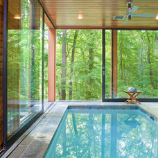 Contemporary Pool by Rill Architects