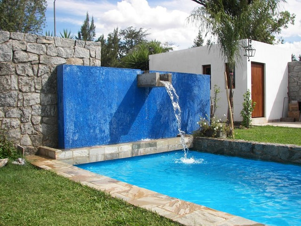 Contemporary Pool by helena barrios vincent aia leed ap