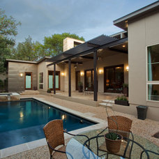 Contemporary Pool by JMS Architects