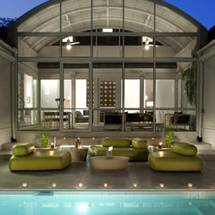 modern porch by Anthony Wilder Design/Build, Inc.