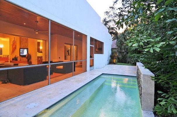 Modern Pool House on Bonita Court Sarasota FL