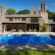 Traditional Pool by Murphy & Co. Design