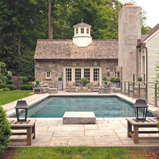 Farmhouse Pool by Beinfield Architecture PC