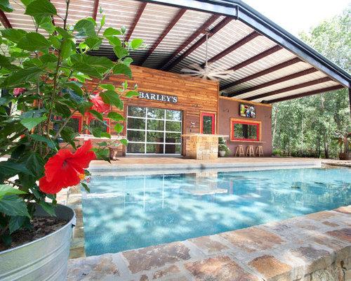 Fotos de piscinas dise os de piscinas r sticas con for Piscinas rusticas fotos