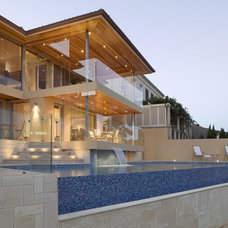 Contemporary Pool by Downunda Aquatic Environments