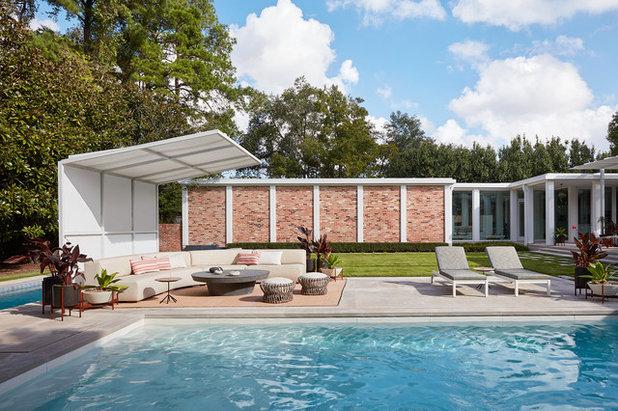 Midcentury Pool by Jamie Bush & Co.