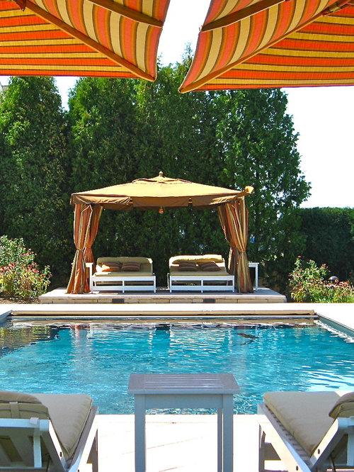 Eclectic Rectangular Pool Photo In New York