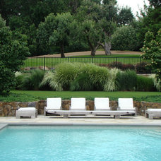 Contemporary Pool by Johnsen Landscapes & Pools