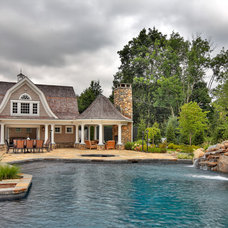 Traditional Pool by Country Club Homes