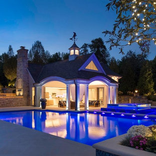 Hunting Valley Transitional Pool House