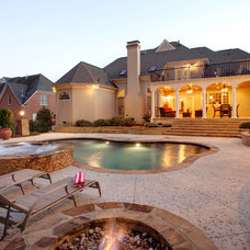 Traditional Pool by Pool by Design